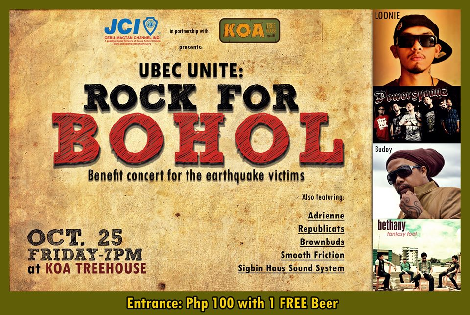 UBEC Unite: Rock for Bohol