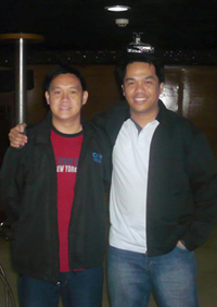 P.S.On my way back to Cebu, I metJCI Mem. Darwin Manubag, CNT (NG) who happened to be attending an alumni homecoming of Mindanao State University.I'm glad to know more about him, a JCI trainer and past NVP for Northern Mindanao.